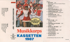 Musikkorpskassetten 1987