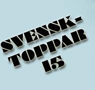 svensktoppar 15