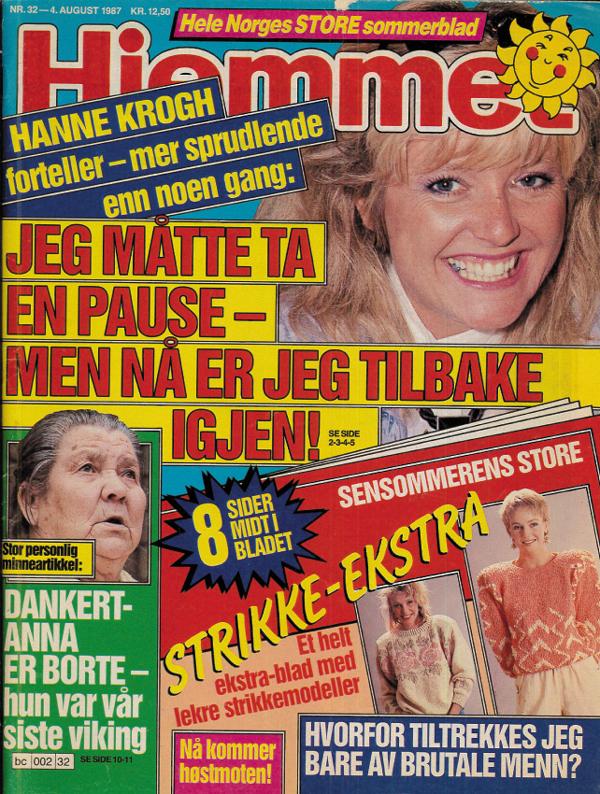 Hjemmet 32 1987