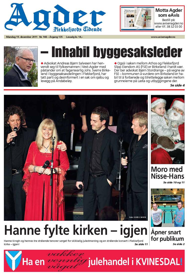 Avisen Agder-1 2011