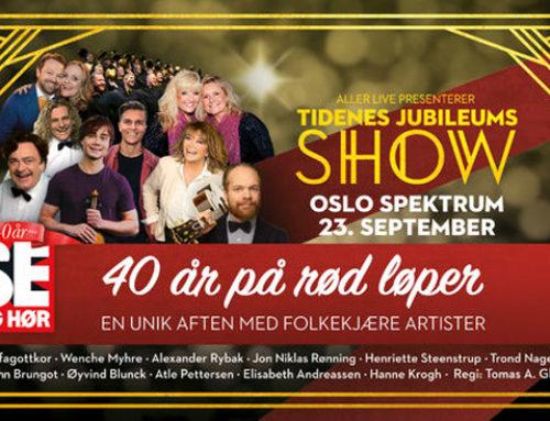 Hanne klar for jubileumsshow i Oslo Spektrum
