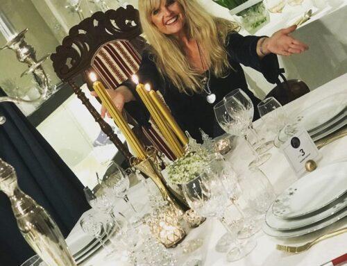 Hanne åpnet julens vakreste designerbord