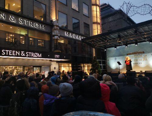 Hanne åpnet julegaten i Oslo