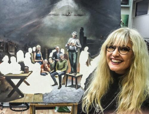 """Hanne inn i """"Paint of Fame"""""""