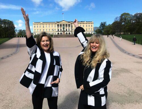 Hanne & Bettan feiret 35 års dagen kongelig