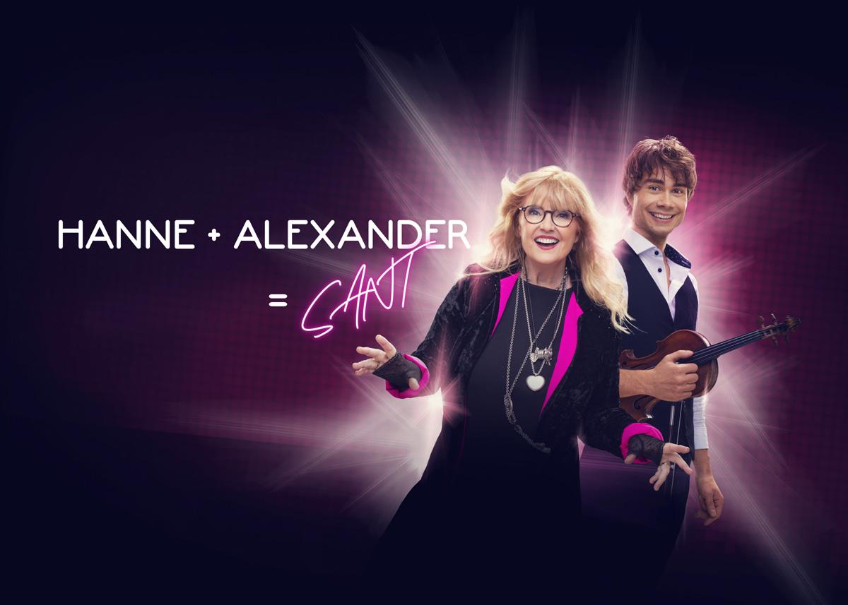 Hanne og Alexander sammen på turné!